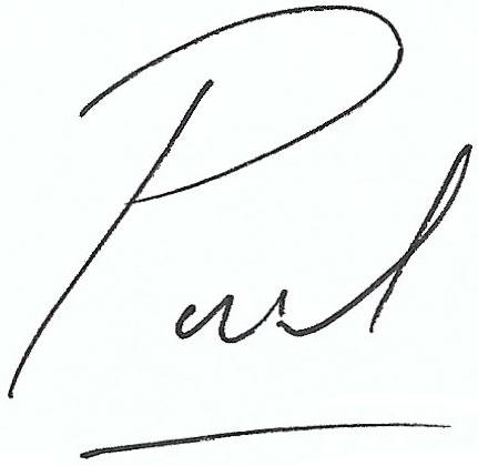 Paul Brannigan Signature